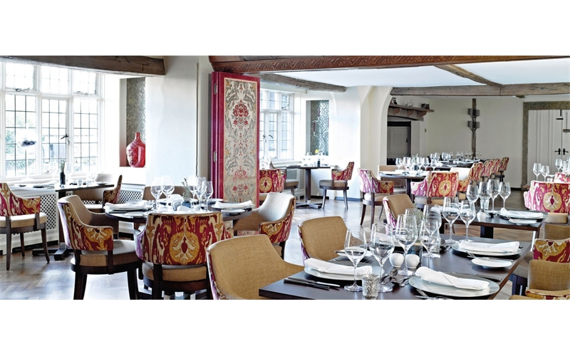 Restaurant at Ghyll Manor Hotel