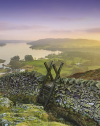 Lake district stile