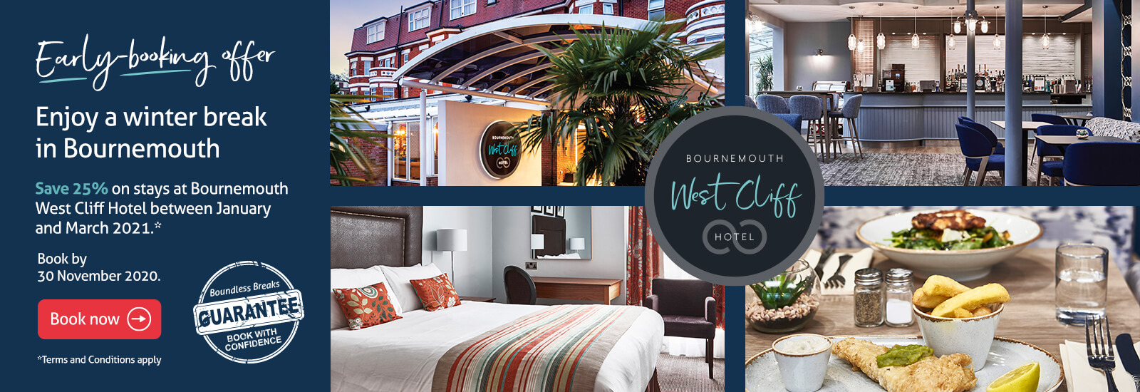 West Cliff Hotel in Bournemouth